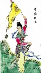 """传统的中国古代却不乏各种各样的""""女汉子""""图片"""