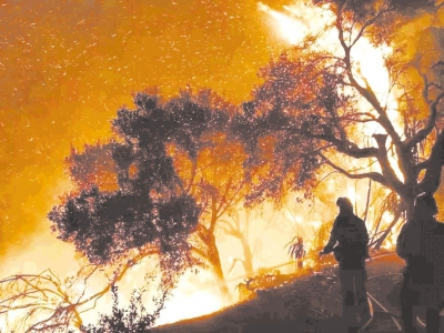 木里森林大火,30名英雄逆火而行,用生命兑现了职责.图片