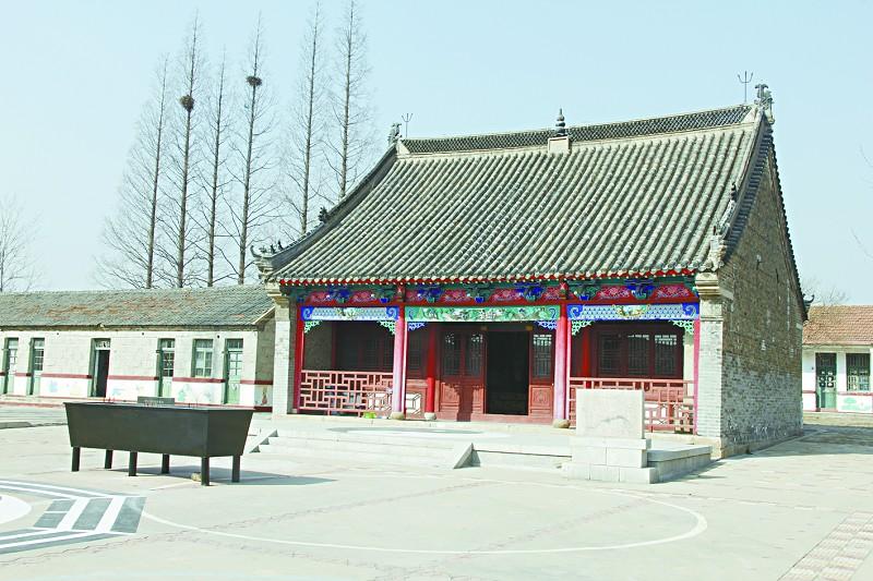 投资80万元的明代庙宇———天后宫已经修复完成;安哲纪念馆搬迁重建